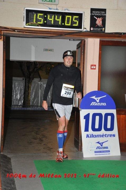 LES 100 KM de MILLAU (09_2012): dans 100 KMS de MILLAU damien2